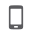 Tiny smartphone icon